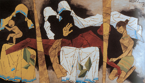 Mother Teresa by Maqbool Fida Husain